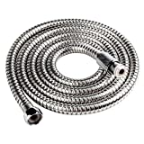 Ancheer 2 meters Stainless Steel Handheld Shower Hose (6.5 Ft) (78.7 Inches) (2 Meters)