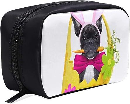 Bolsa de cosméticos de viaje para mujer Bulldog francés Perro ...