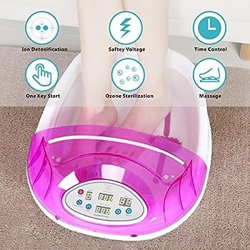 Amazon Com Ionic Foot Cleanse Detox Foot Bath Machine