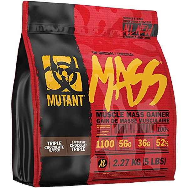 Mutant Mass 2.2 kg Triple chocolate: Amazon.es: Alimentación ...