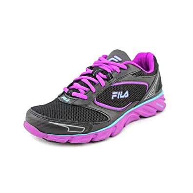 66f5c82d746eb Fila Ancerus 5 Womens Black Mesh Running Shoes Size New/Display UK ...