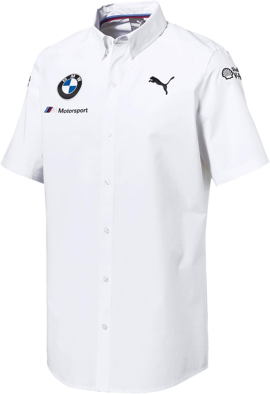 B07BZCJQMS Puma BMW Motorsport Team Shirt White (XXL) 61UEMtNPD4L.SL1500_