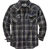 Best  - Legendary Whitetails Men's Outlaw Western Shirt Drifter Plaid Review
