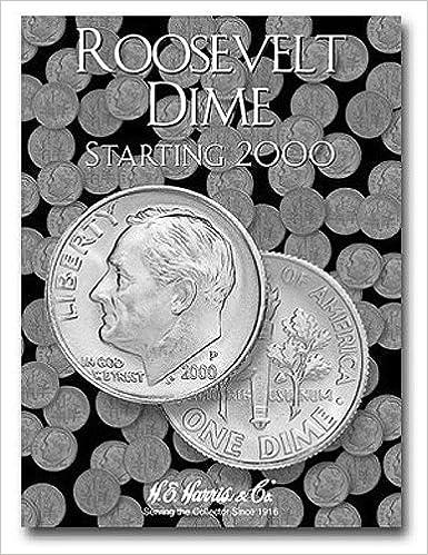 roosevelt dimes folder starting 2005 official whitman coin folder