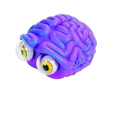 Warm Fuzzy Toys Poppin' Peeper Brain Fidget Toy, 3 Inches: Industrial & Scientific