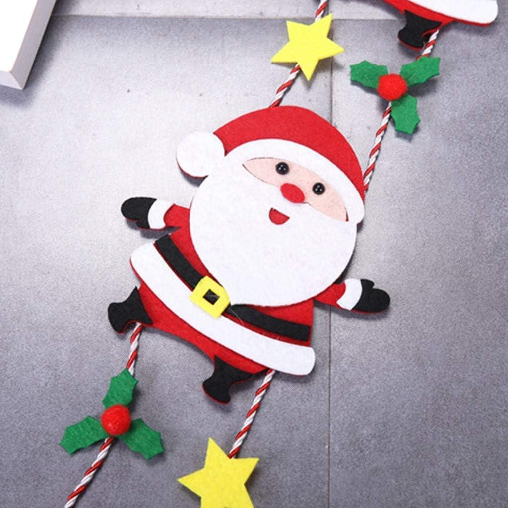 CLOOM Papá Noel En La Escalera Decoracion Navidad Adorno De ...