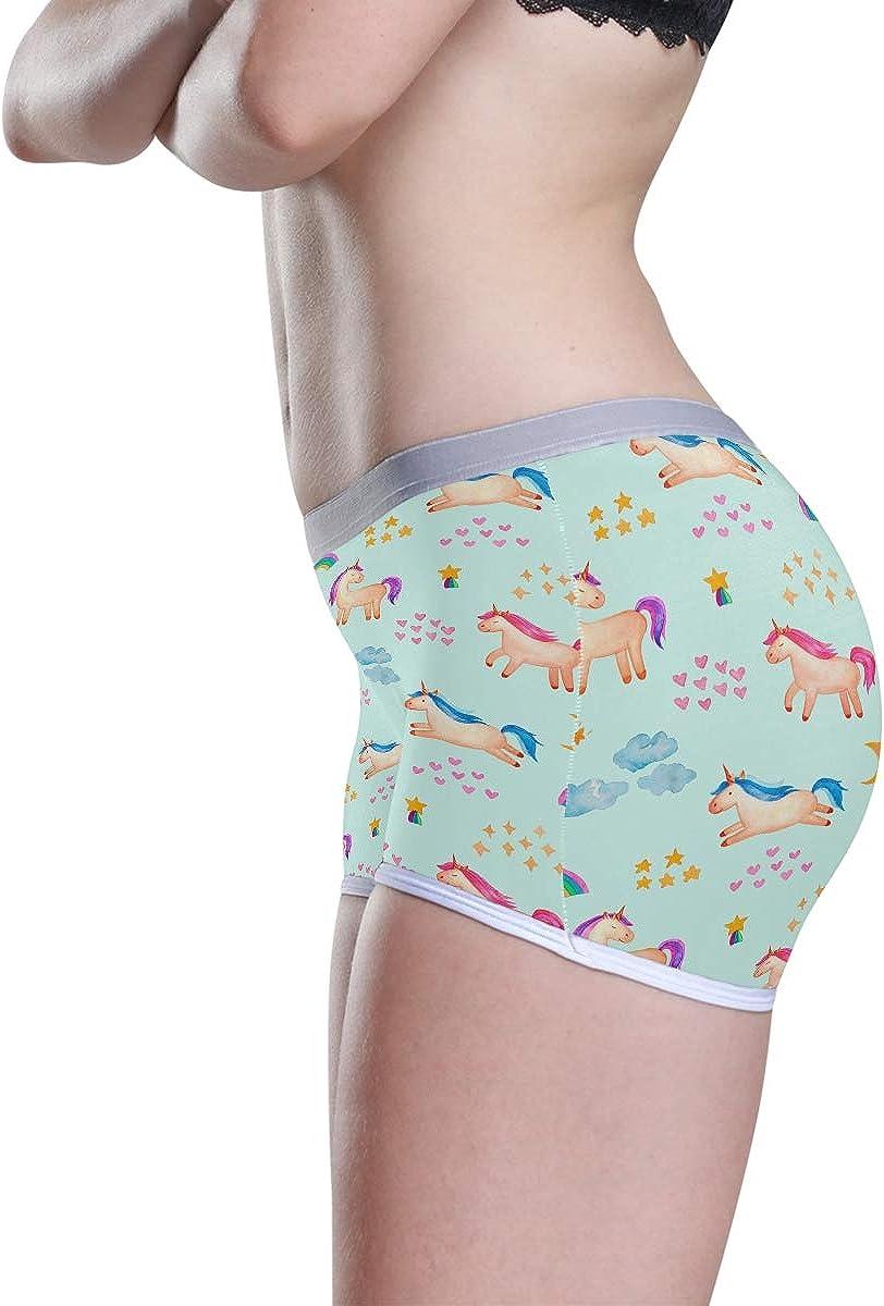 Knickers Scrundies Comfy Underwear UK 8-22 in stock Briefs Organic cotton Happy Pants Ladies pants S-XL Rainbow Unicorns Shorts