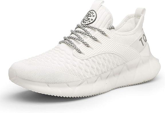 tqgold® Zapatillas Deportivas Hombre Mujer Zapatos Deportivos Running Zapatillas para Correr Fitness Gimnasio Sneakers: Amazon.es: Zapatos y complementos