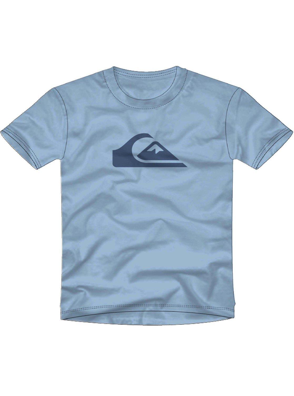 Quiksilver Men's Comp Logo Tee Shirt, Angel Falls, L