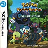 Pokemon Mystery Dungeon - Explorers of Time DS Instruction Booklet (Nintendo DS Manual Only) (Nintendo DS Manual)
