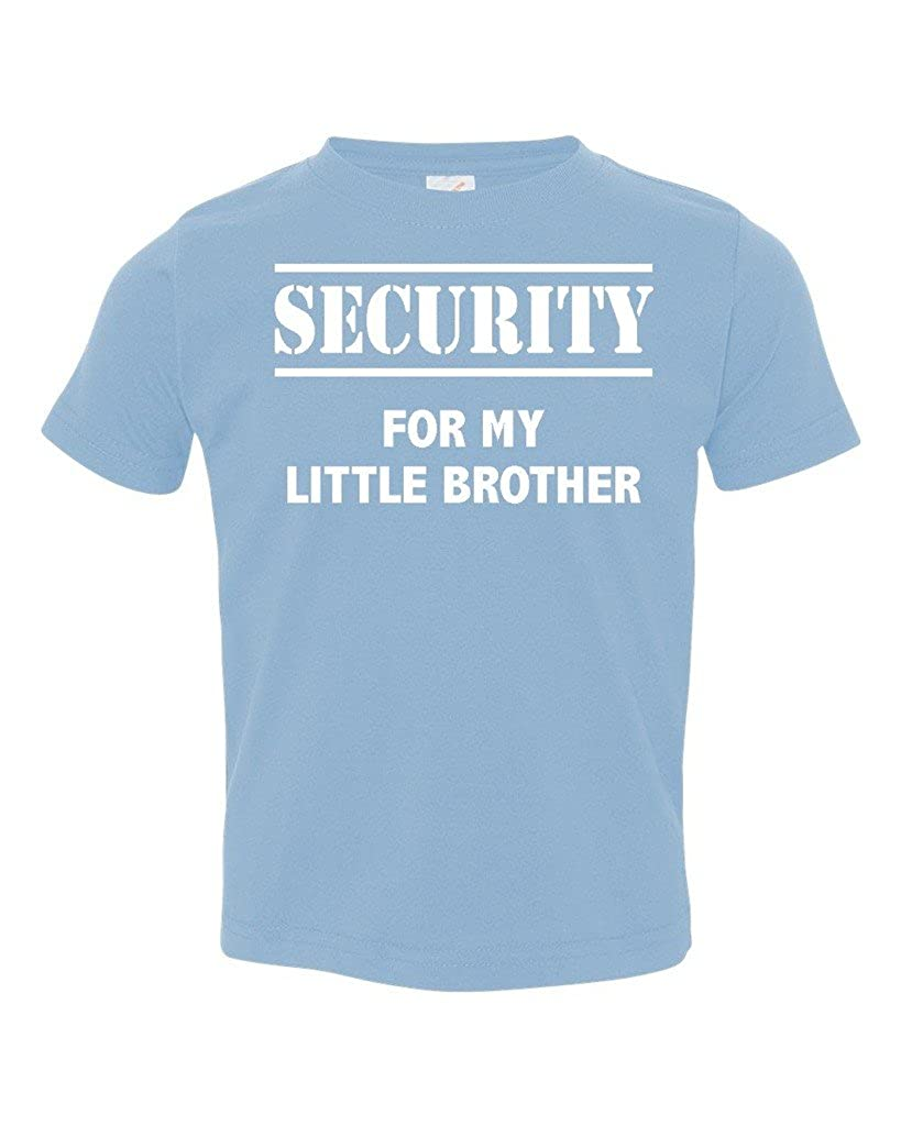 Promotion & Beyond P&B Security for My Little Brother Big Boy's Gift Toddler T-Shirt