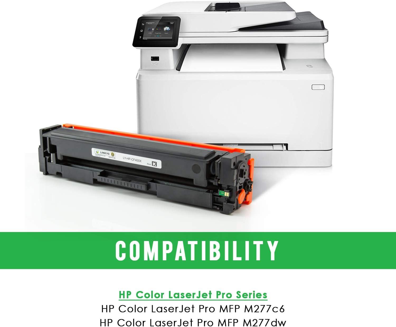 Toner 201X CF400X-CF403X For HP LaserJet Pro M252dw M252n M252 MFP M277dw Lot HY