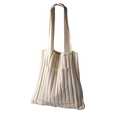 Straw Crossbody Bag Weave Shoulder Bag Knit Backpack for Travel for Women