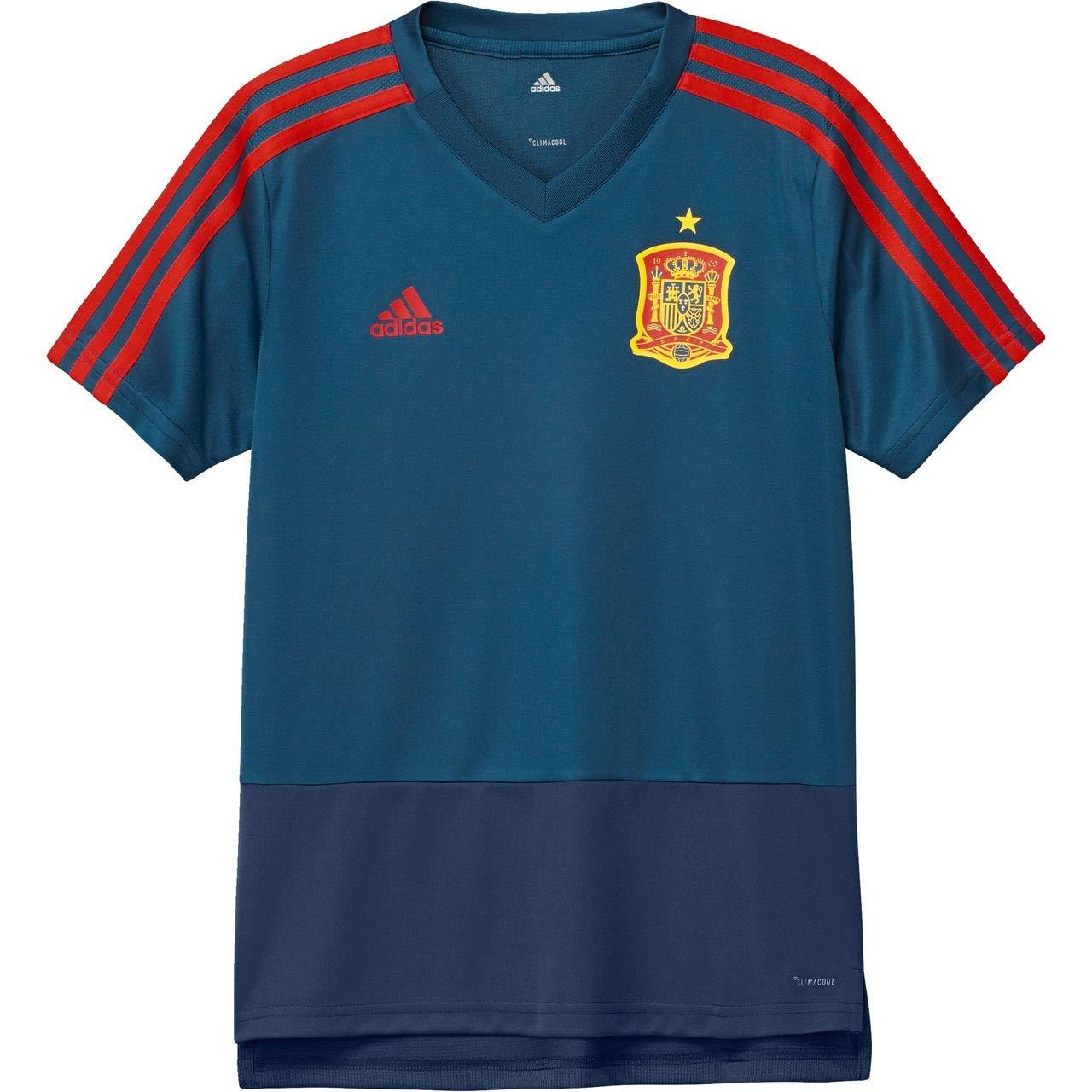 adidas 2018-2019 Spain Training Jersey (Blue) - Kids