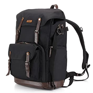 Amazon.com : Backpack Camera Bag with Tripod Tolder for Dslr ...