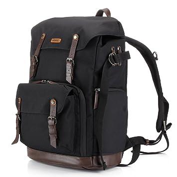 Amazon.com : Backpack Camera Bag with Tripod Tolder for Dslr ...