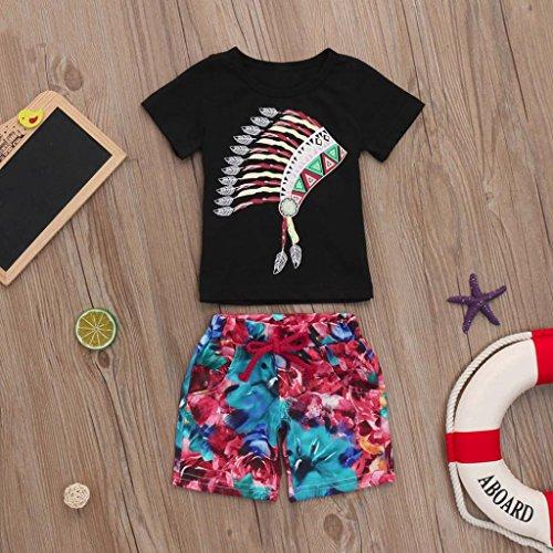 169a5f472 70% OFF Ropa Bebe NiñO Verano Moda Conjunto Bebé NiñO Ropa Bebe Recien  Nacido Primavera NiñOs T-Shirt Deporte Camiseta Sin Manga Ropa Pantalones  ...