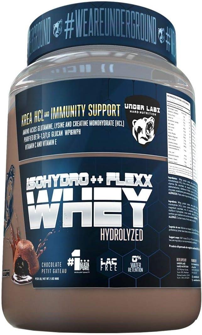 Isohydro Flexx Whey 900G Chocolate Petit Gateau - Under Labz por Under Labz Hard Nutrition