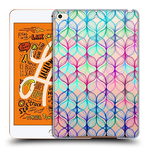 Official Micklyn Le Feuvre Mermaids Braids Patterns 7 Hard Back Case Compatible for iPad Mini (2019)
