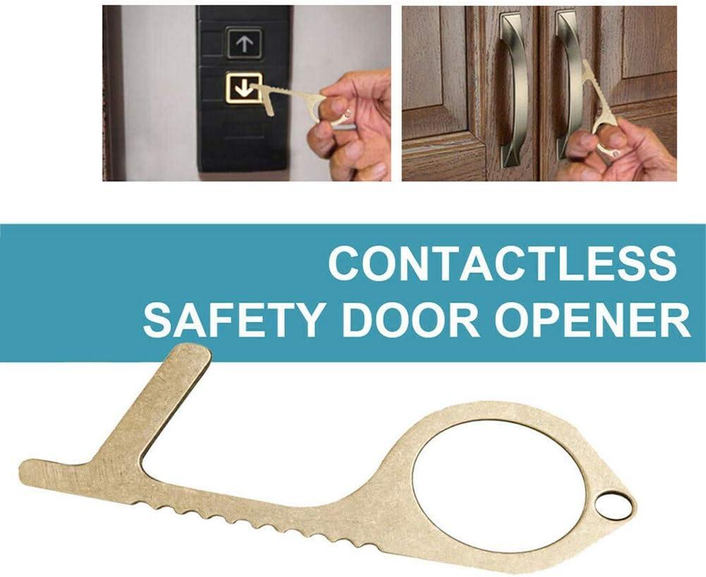 Yimixz 1//2 Pcs Contactless Door Opener Safety Protection Non-Contact Reusable Press Elevator Button 1 pezzo. 1 PCS