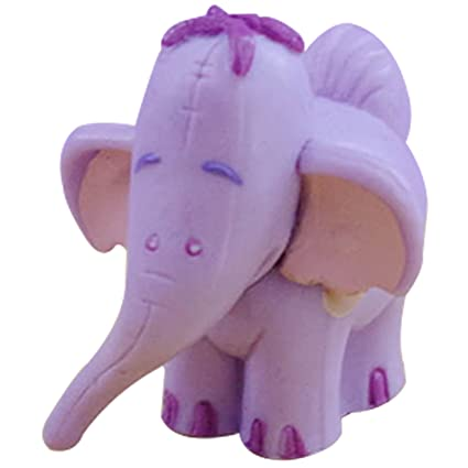 Amazon Com Cute Purple Elephant Aquarium Terrariums Miniature