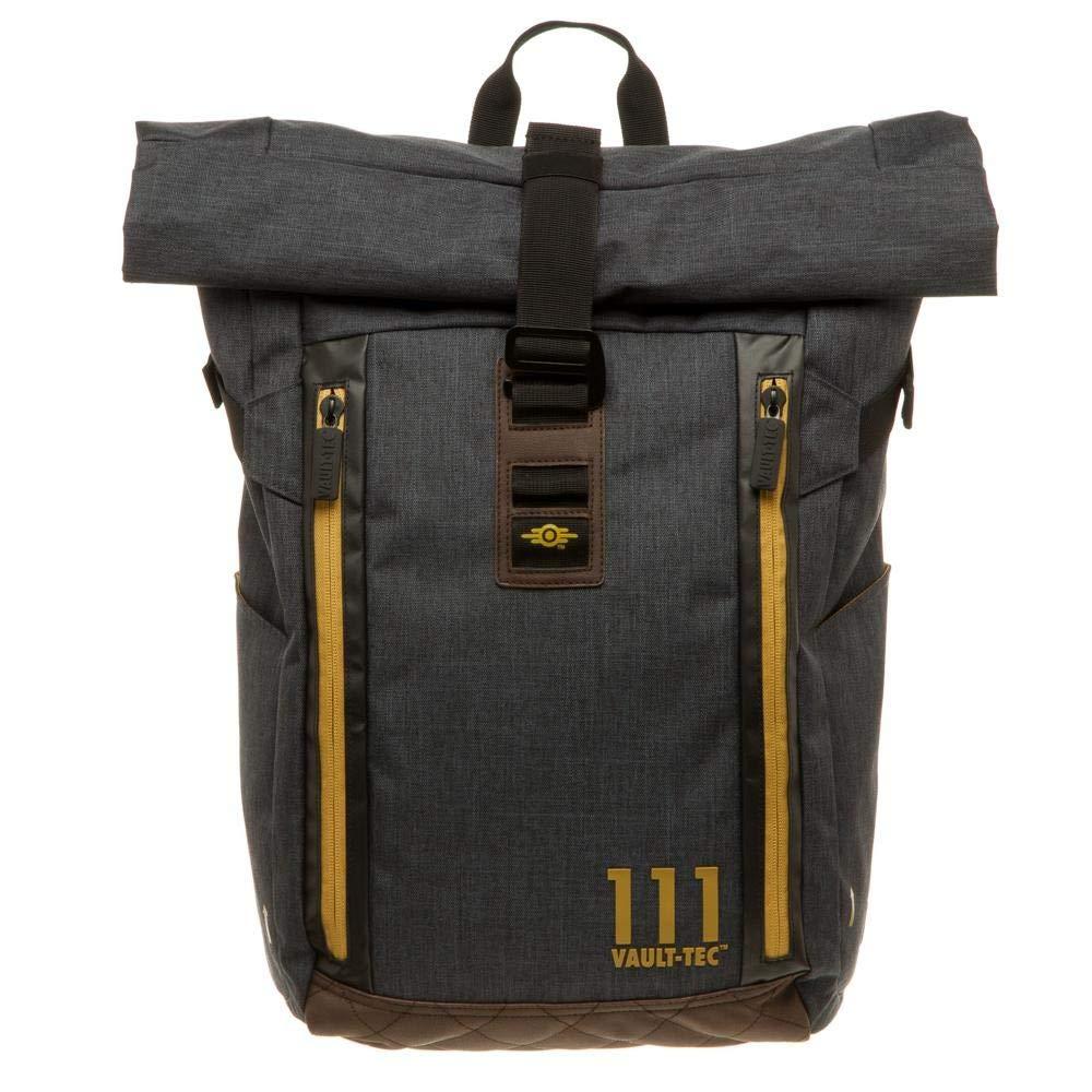 Fallout Vault Tec Roll Top Backpack Standard: Amazon.es: Juguetes y juegos