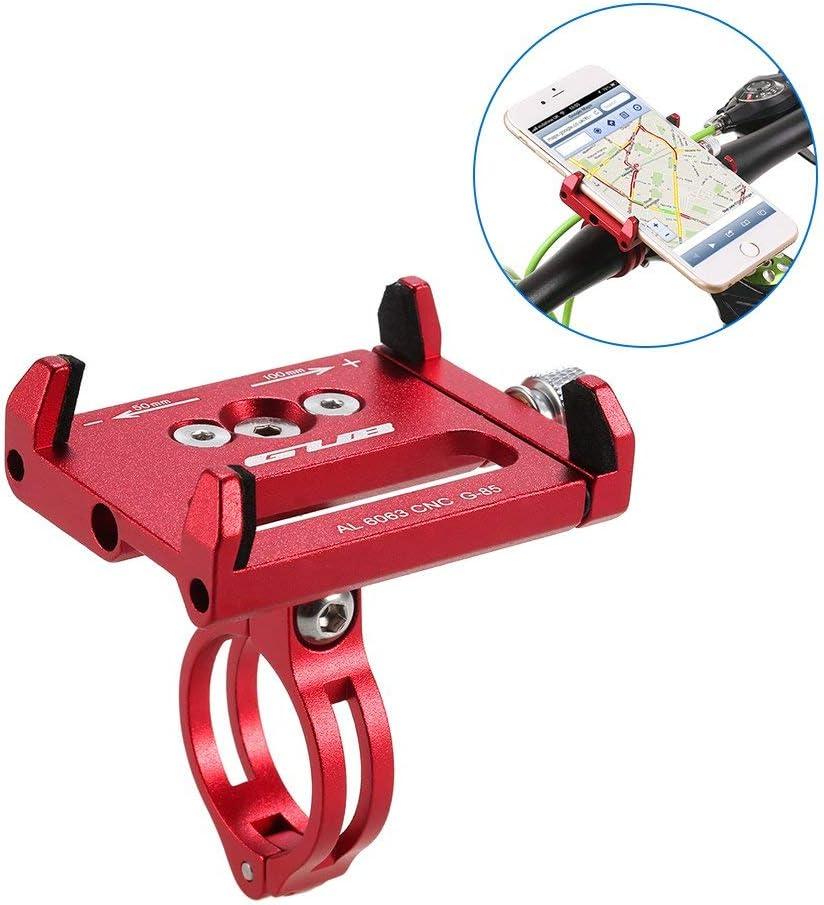 Lixada Fahrrad Telefonhalterung Universal Verstellbaren f/ür 3.6-6.2 Zoll Elektronische Ger/äte