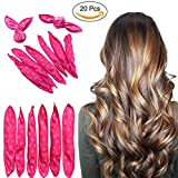 Best Rollers For Long Hairs - Dr Nezix Sponge Flexible Foam Hair Curlers, 20pcs Review