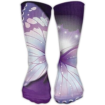 Dreamy Butterfly Unisex Sports Socks Tube Socks Knee High Compression Sports Athletic Socks Tube Stockings Long Socks