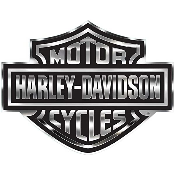 - Amazon.com: Harley-Davidson Bar & Shield Logo Decal, X-Large 30 X 40 In,  Gray & Black CG4330: Harley-Davidson: Automotive