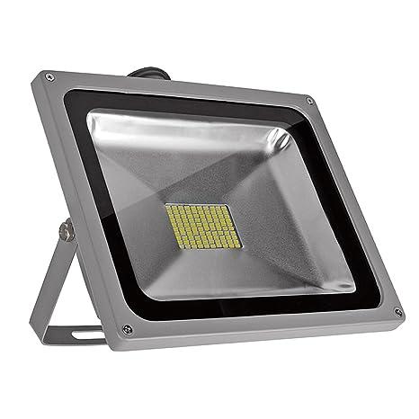 PrimLight 80W SMD Impermeable Reflector del LED,Luz de Seguridad,Proyector Ahorro de Energía