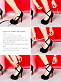 Women's Ankle Strap Platform Pump Party Dress High