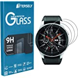 TERSELY (3 Pack) Screen Protector for Samsung Galaxy Watch Gear S3 Frontier/Classic 46mm, 9H Hardness Tempered Glass Screen Protector Film Guard for Samsung Galaxy S3 Watch - 46mm