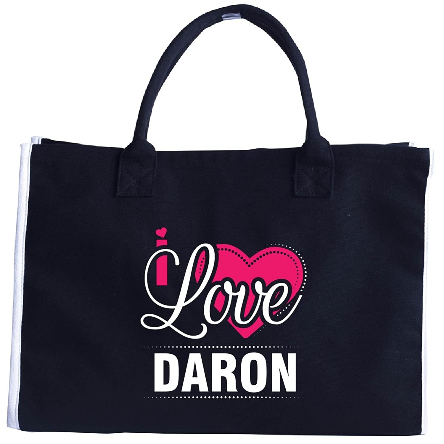 I Love Daron - Cool Gift For Daron From Girlfriend - Tote Bag