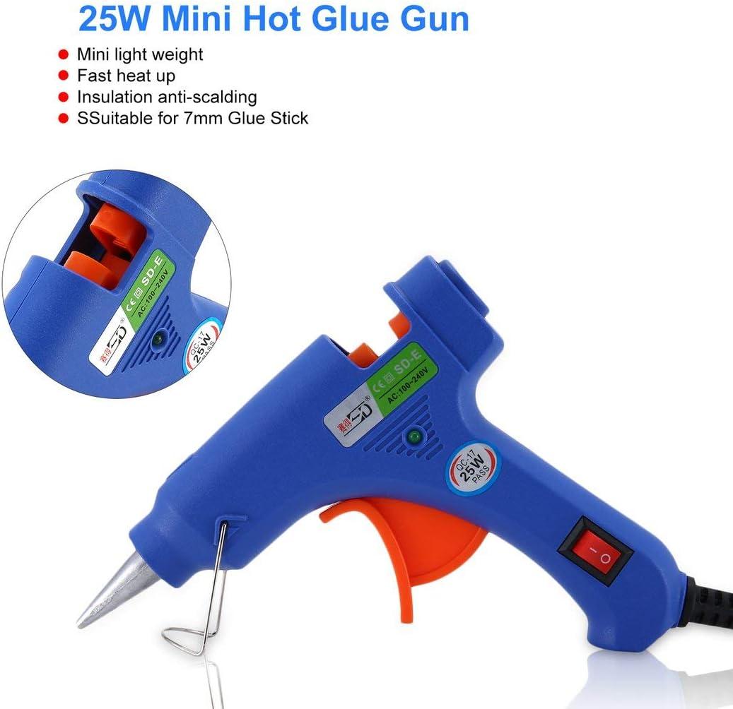 ForceSthrength SD SD-E 25W Hei/ßklebepistole f/ür DIY Handarbeitsspielzeug Reparatur Hei/ßluftpistolen