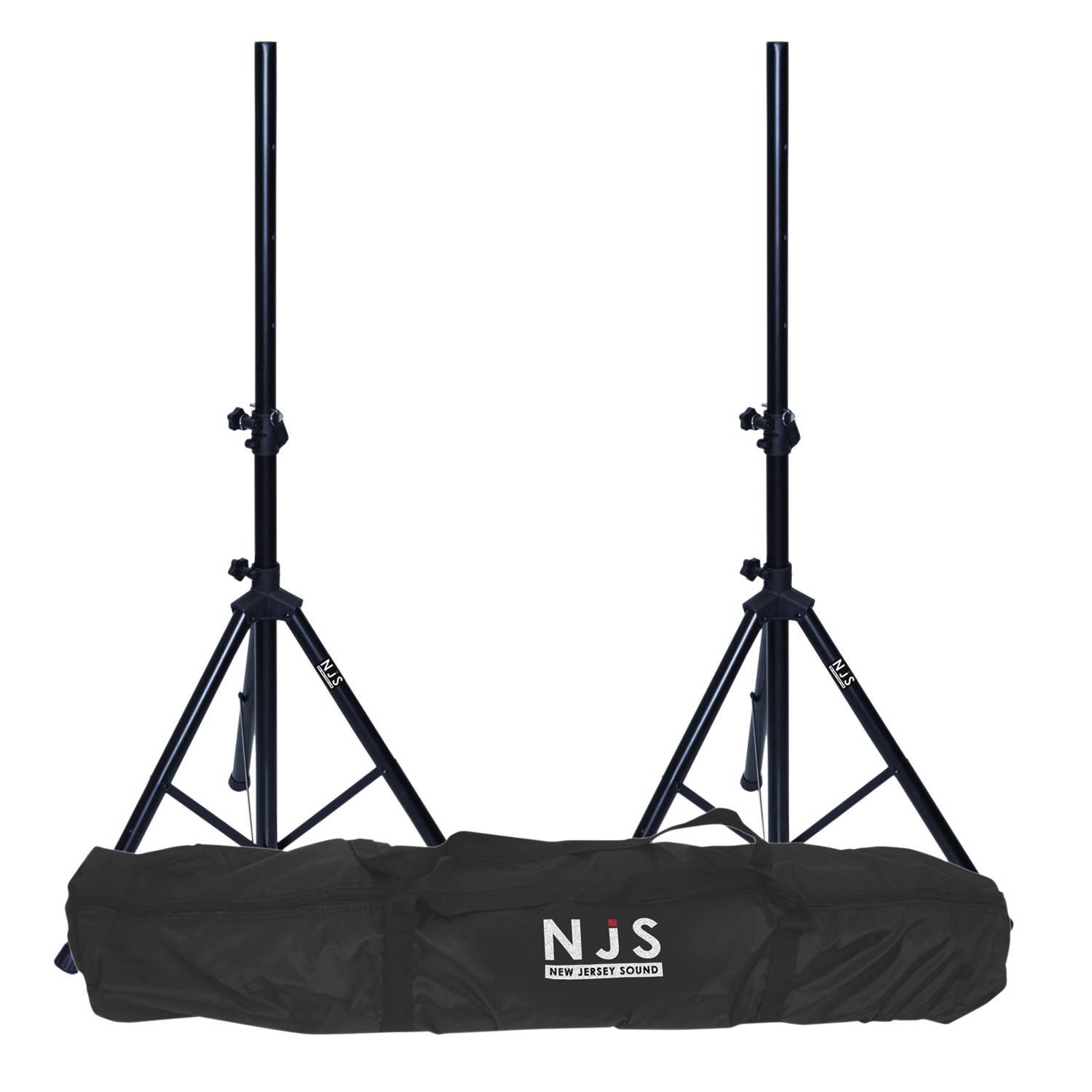 Kit de 2 pieds d'enceintes 35mm charge max 45 kg + sac de transport NJS063DE New Jersey Sound