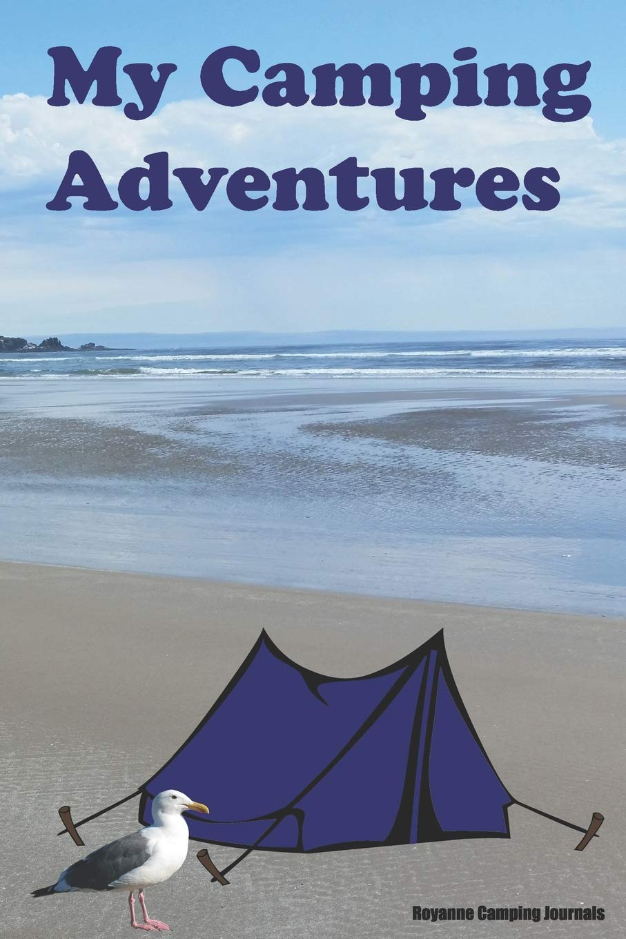 64a7e4b3d55 My Camping Adventures  Beach Ocean Coast Cover - Prompt Journal and  Activity Book for Kids who Enjoy the Outdoors