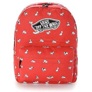 VANS - Vans Women s Backpack - Dalmatian - Red - One Size by Vans  Amazon.co.uk   Sports   Outdoors 8596cfa22cb76