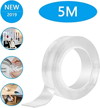 UK Multifunctional Double-Sided Adhesive Tape Traceless Washable Removable Tapes