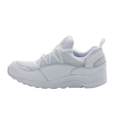 save off 2ed7e 24a15 Nike Air Huarache Light Sneaker White 306127 111, Size 40