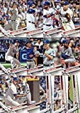 2017 Topps Series 1 Los Angeles Dodgers Baseball Card Team Set - 13 Card Set - Includes Corey Seager, Justin Turner, Adrian Gonzalez, Clayton Kershaw, and more!