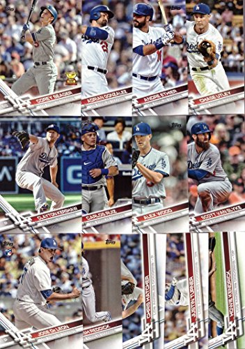 Amazoncom 2017 Topps Series 1 Los Angeles Dodgers Baseball Card