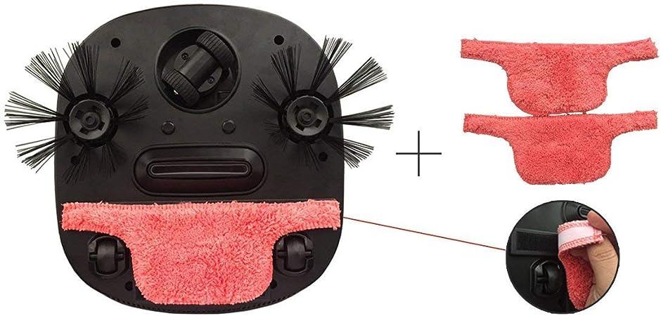 Robotic Aspiradora con Lavado/aspirar/Deslizar suelo Lavado, Home Smart Robot limpiador para pelo/suciedad/Diario Colector de polvo: Amazon.es: Hogar