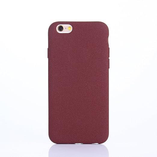 3 opinioni per Cover iPhone 6 PLUS, Yunbaozi iPhone 6S PLUS Custodia in Peloso TPU Cover Cuoio