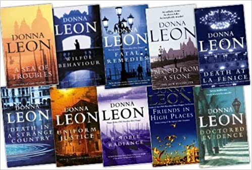 Donna Leon 10 Books Collection Pack Set Donna Leon 9783200306769 Books