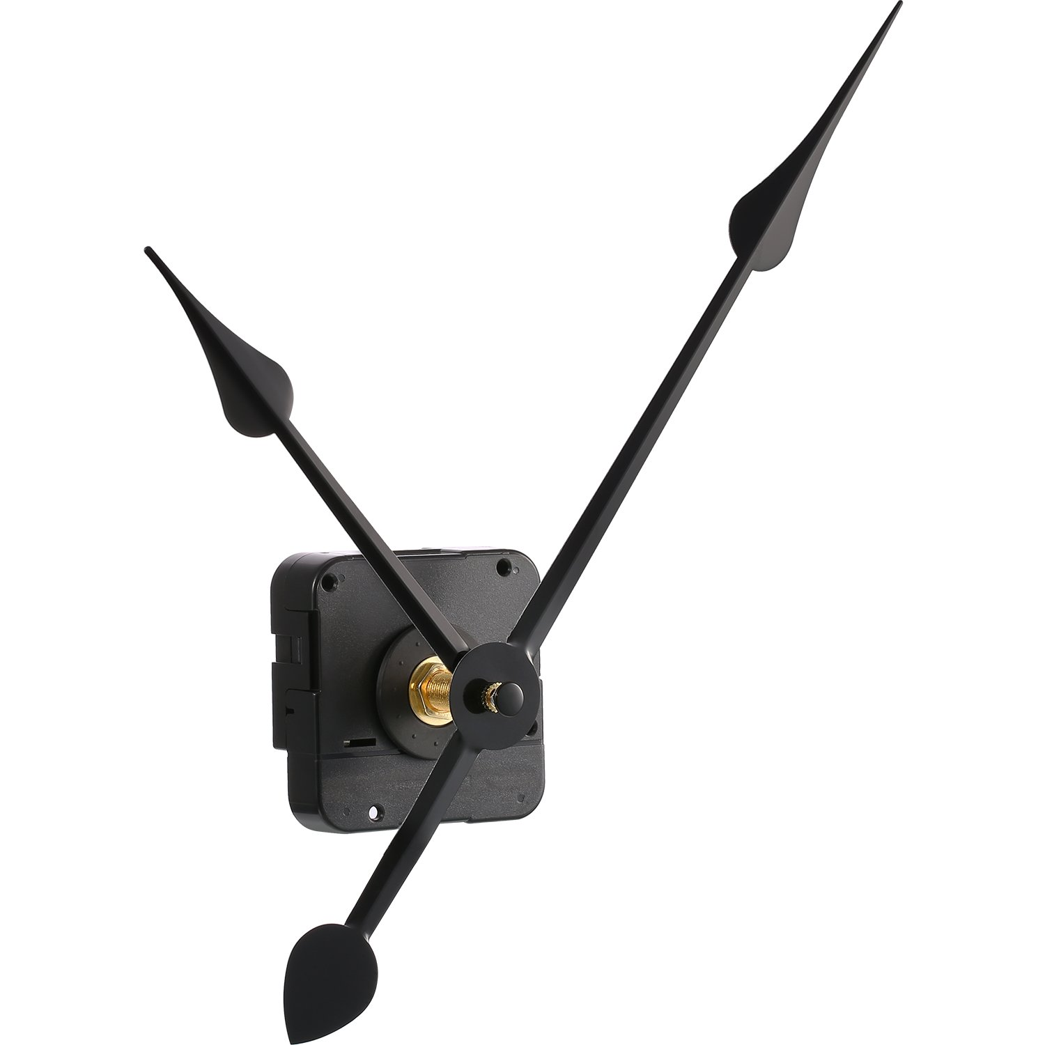 Hicarer High Torque Clock Movement Mechanism with 270 mm 10.6 Inch Big Clock Hands Shaft Length 9 10 Inch 23 mm