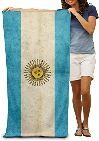 Sula-Lit - Toalla de playa para hombre, diseño de bandera de Argentina: Amazon.es: Hogar