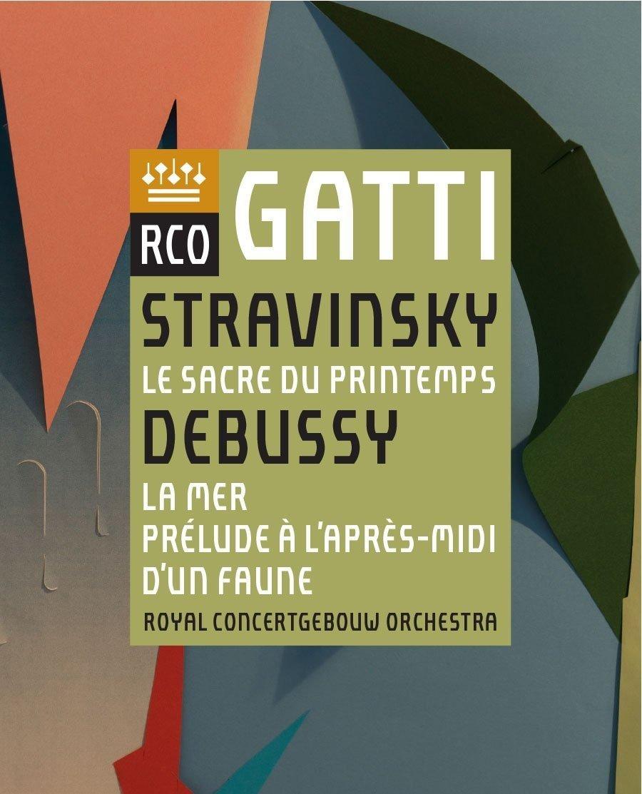 Blu-ray : Stravinsky - Royal Concertgebouw Orchestra - Stravinsky: Le Sacre Du Printemps / Debussy: La Mer / Prelude AL'Apres-Midi D'Un Faune (United Kingdom - Import)