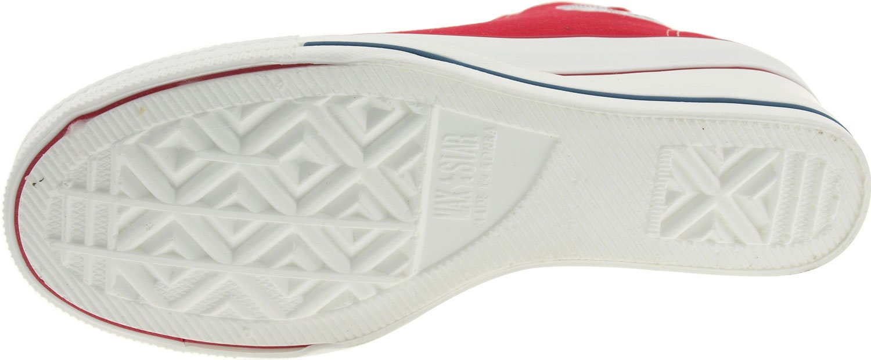 Maxstar Women's 7H Zipper Low Wedge Heel Sneakers B00COWN0Z4 5.5 B(M) US|Red
