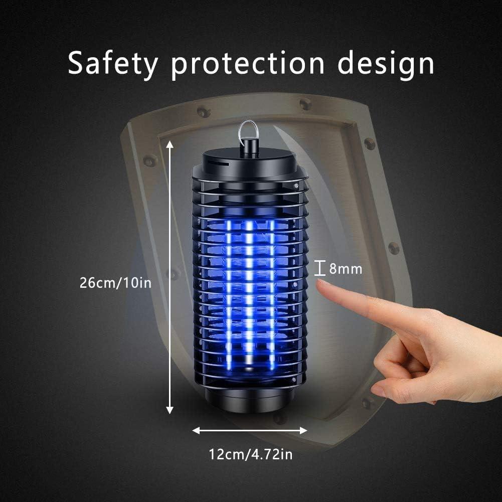 FEALING L/ámpara Antimosquitos Electrico,360/°UV LED L/ámpara Anti Mosquitos Destructora de Insectos Electrico,Trampas para Insectos Mosquito Killer,para Cocina Sala de Estar Dormitorio Oficina